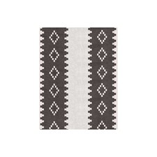Grey Ethnic Drapery and Upholstery Fabric by Andrew Martin