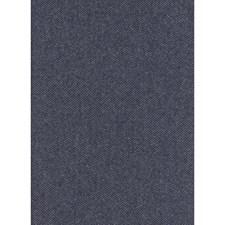 Navy Herringbone Drapery and Upholstery Fabric by Andrew Martin