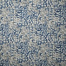 Denim Ethnic Drapery and Upholstery Fabric by Pindler