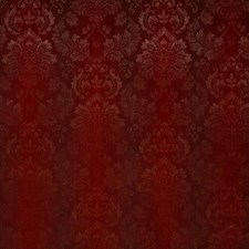 Carnelian Damask Drapery and Upholstery Fabric by Pindler