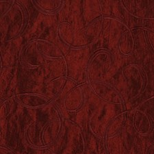Cinnabar Embroid Drapery and Upholstery Fabric by RM Coco