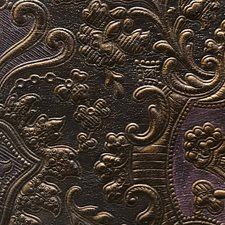 Mauve/Gold Drapery and Upholstery Fabric by Scalamandre
