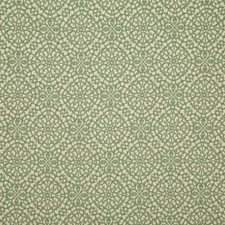 Aqua Damask Drapery and Upholstery Fabric by Pindler