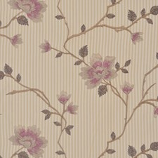 Damson Drapery and Upholstery Fabric by RM Coco