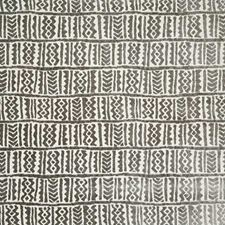 Pewter Ethnic Drapery and Upholstery Fabric by Pindler