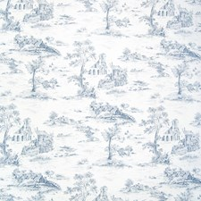 River Toile Drapery and Upholstery Fabric by Greenhouse