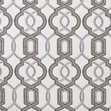 Ash Medallion Drapery and Upholstery Fabric by Greenhouse