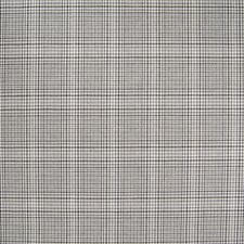 Graphite Plaid Check Drapery and Upholstery Fabric by Greenhouse