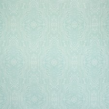 Teal Paisley Drapery and Upholstery Fabric by Greenhouse