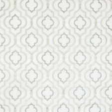 Quartz Medallion Drapery and Upholstery Fabric by Greenhouse
