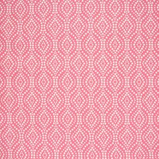 Coral Lattice Drapery and Upholstery Fabric by Greenhouse