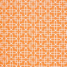 Tangerine Lattice Drapery and Upholstery Fabric by Greenhouse
