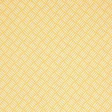 Citrine Geometric Drapery and Upholstery Fabric by Greenhouse