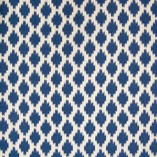 Sapphire Ikat Drapery and Upholstery Fabric by Greenhouse