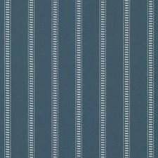 Batik Blue Drapery and Upholstery Fabric by Kasmir