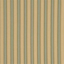Celadon/Gold Stripes Drapery and Upholstery Fabric by G P & J Baker