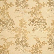 Bronze Embroidery Drapery and Upholstery Fabric by G P & J Baker