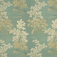Seafoam Embroidery Drapery and Upholstery Fabric by G P & J Baker
