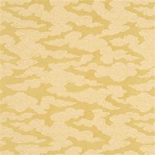 Gold Solid W Drapery and Upholstery Fabric by G P & J Baker