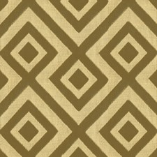 Sand Geometric Drapery and Upholstery Fabric by G P & J Baker
