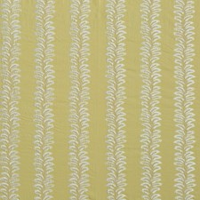 Pistachio Embroidery Drapery and Upholstery Fabric by G P & J Baker