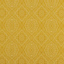 Ochre Weave Drapery and Upholstery Fabric by G P & J Baker
