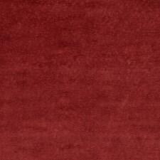 Red Velvet Drapery and Upholstery Fabric by G P & J Baker