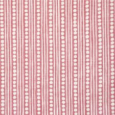 Dark Pink Stripes Drapery and Upholstery Fabric by Lee Jofa