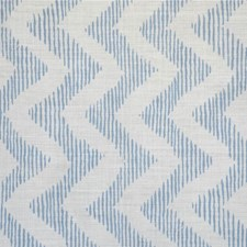 Blue/Oyster Print Drapery and Upholstery Fabric by Lee Jofa