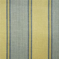 Blue/Green Stripes Drapery and Upholstery Fabric by Lee Jofa