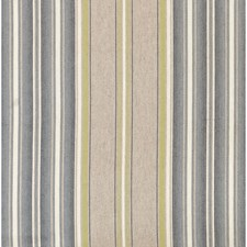 Beige/Blue Stripes Drapery and Upholstery Fabric by Lee Jofa