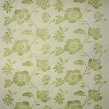 Creme/Beige/Green Transitional Drapery and Upholstery Fabric by JF