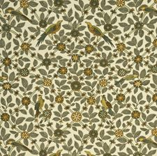 Olive/Terracotta Animal Drapery and Upholstery Fabric by G P & J Baker