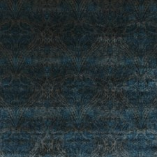 Sapphire Print Drapery and Upholstery Fabric by G P & J Baker