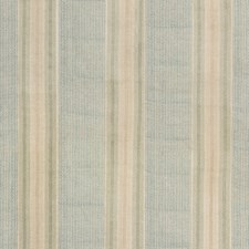 Aqua Stripes Drapery and Upholstery Fabric by G P & J Baker
