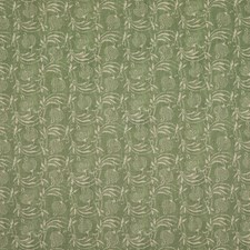 Green Botanical Drapery and Upholstery Fabric by G P & J Baker