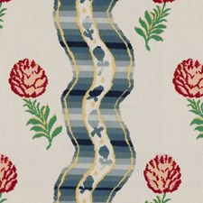 Cream Stripes Drapery and Upholstery Fabric by Brunschwig & Fils