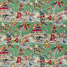 Jade Asian Drapery and Upholstery Fabric by Brunschwig & Fils