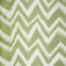Aloe Geometric Drapery and Upholstery Fabric by Brunschwig & Fils