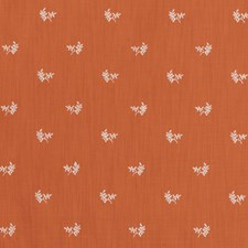 Tiger Lily Botanical Drapery and Upholstery Fabric by Brunschwig & Fils
