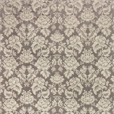 Charcoal Damask Drapery and Upholstery Fabric by Brunschwig & Fils