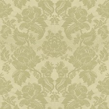 Gris Damask Drapery and Upholstery Fabric by Brunschwig & Fils