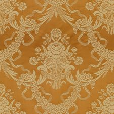Cognac/Ivoire Drapery and Upholstery Fabric by Brunschwig & Fils