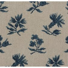 Blue Drapery and Upholstery Fabric by Brunschwig & Fils