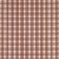 Red/Brown Drapery and Upholstery Fabric by Brunschwig & Fils