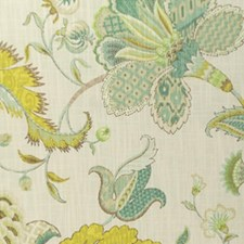Peacock Drapery and Upholstery Fabric by RM Coco