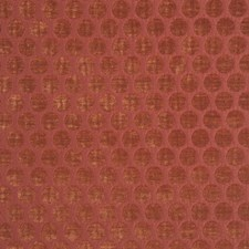 Burnt Orange Drapery and Upholstery Fabric by Maxwell