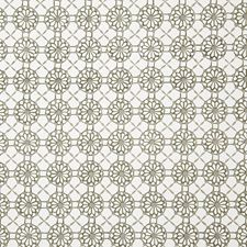 Taupe Ethnic Drapery and Upholstery Fabric by Pindler