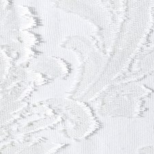 Winter White Drapery and Upholstery Fabric by Scalamandre
