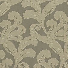 Mocha Drapery and Upholstery Fabric by Scalamandre